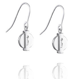 Silver Coin earrings hopeiset korvakorut - Hopeiset korvakorut - 12-100-01038-0000 - 1