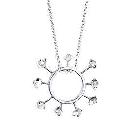 Efva Attling Here comes the sun necklace kaulakoru - Hopeiset kaulakorut - 10-100-01061-4245 - 1